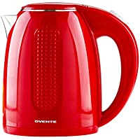 Ovente 1.7 Liter Double Walled Electric Hot Water Kettle
