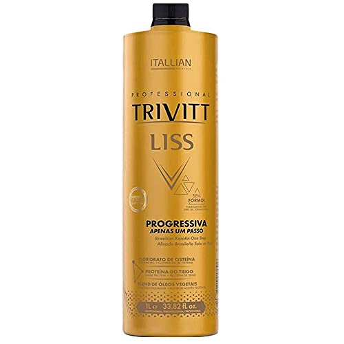 Escova Progressiva Sem Formol Itallian Trivitt Liss