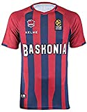 Baskonia Shooting Camiseta, Juventud Unisex, Azulgrana, 12