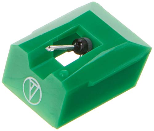 Audio Technica ATN95E Elliptical Stylus (Replacement Stylus for Phono Cartridge AT95E) (Green)