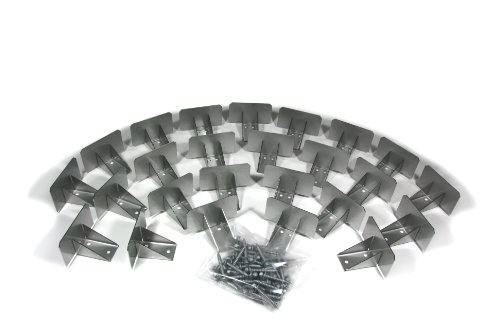 SnowCatchers Stainless Steel 25 pcs Snow Guards w/Screws for Metal Steel Roof