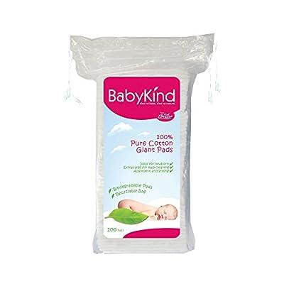 BabyKind Discos de algodón
