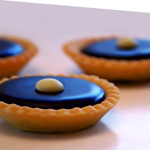 Mallard Ferrière - Moule Silicone Professionnel - 60 Mini Tartelettes