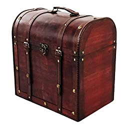 Wooden Wine Bottle Box – Allgala