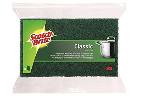 SCOTCH-BRITE 8410001100647 Küchenreiniger, grün, 2 Pezzi, 2 Stück