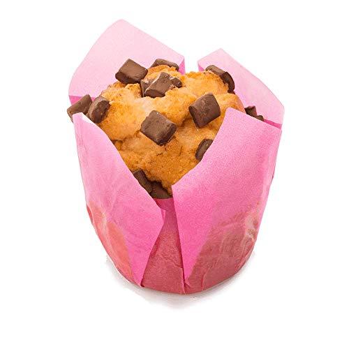 Vestakorn Muffins 2 Stück, einzeln verpackte, saftige Cupcakes, frisch aus der Konditorei