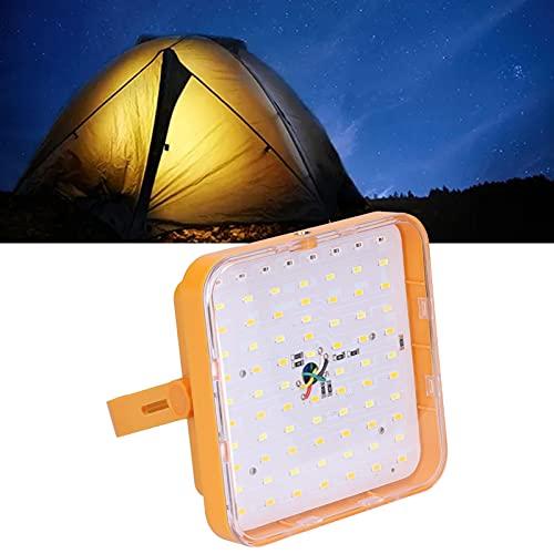SONK Luz de Emergencia Solar, luz de Emergencia LED de Ahorro de energía Lámpara Solar LED para Acampar para Caminar al Aire Libre