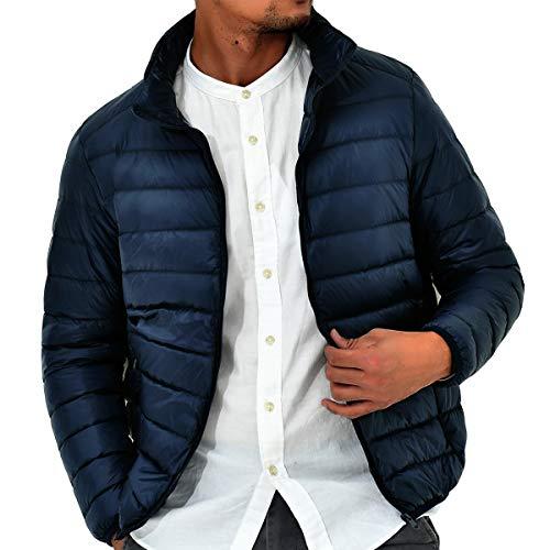 LOGEEYAR Men's Packable Down Jacket Insulated Lightweight Puffer Jacket Winter Outerwear