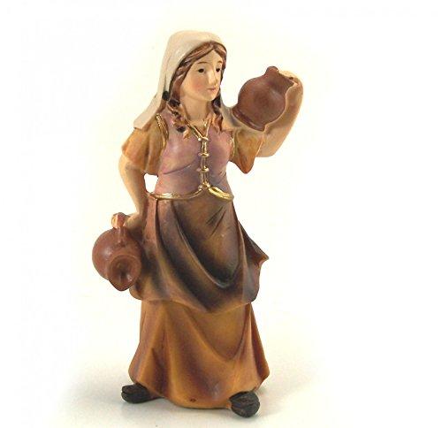 Magd mit Krug auf Schulter, geeignet für 11cm Figuren