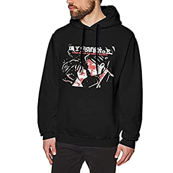 My Che-Mical Rom-Ance Sweet Revenge Hoodie Men S Hooded Sweatshirts 3d Printed Graphic Hoodie And Pullover Hoodies For Men Loose Long Sleeve Tops Sport Outwear 3x-Large Black