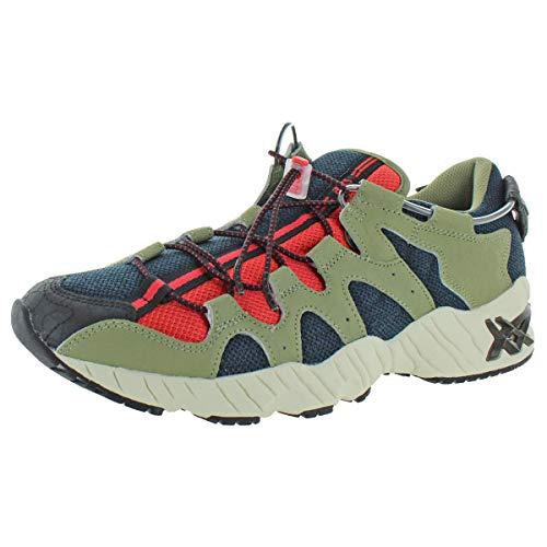 ASICS Tiger Gel-Diablo - Zapatos para hombre, azul (Océano Oscuro/Aloe), 43.5 EU