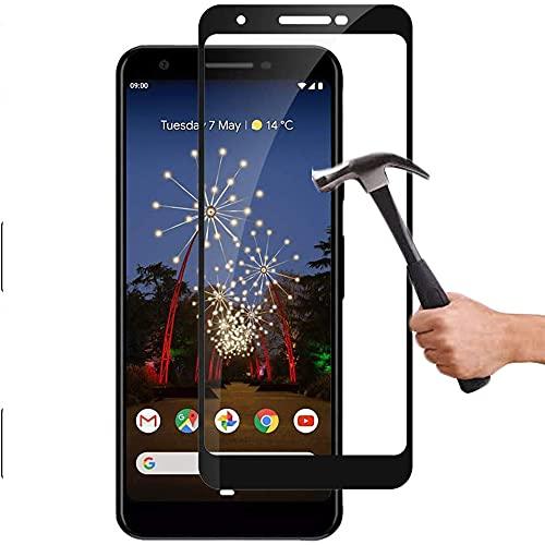 Lapinette Protector de Pantalla Compatible con Google Pixel 3A Completa - Protector de Pantalla Vidrio Templado Pixel 3A Integral - 9H Force Glass - Protectora Completa