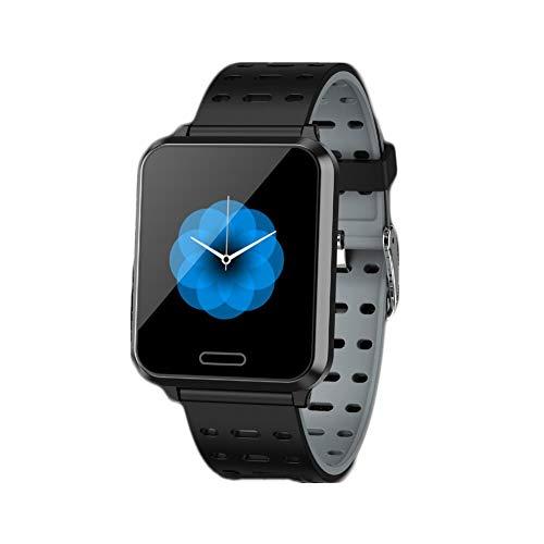 GPS Reloj Inteligente,IP67 Impermeable Dormir Pulsera De Actividad Reloj De Contador De Pasos Pressione Sanguigna Pulsómetros Monitor para iOS Y Android Smart Watche Plata 1.3inch