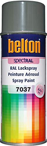 belton spectRAL Lackspray RAL 7037 staubgrau, glänzend, 400 ml - Profi-Qualität