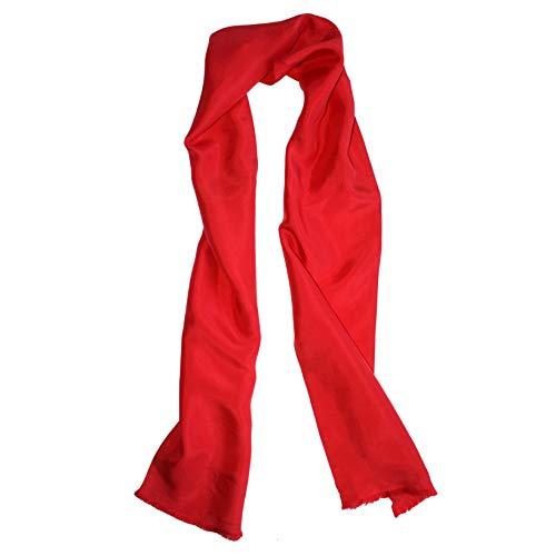 Royal Silk Fliegerschal aus Seide, Rot