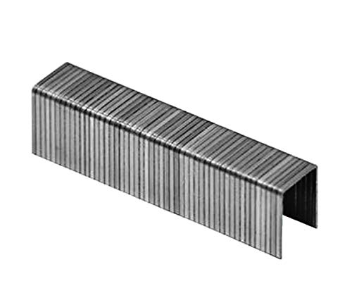 Faster Tools Tackerklammern Typ 53 8mm Feindrahtklammern für Holz, Stoffe etc. für z.b. Bosch Rapid Novu EGA 11,3mm Drahstärke Tacker (1000, 8mm (Typ53))
