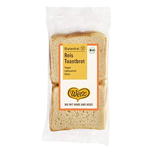 Werz - Reis-Toastbrot glutenfrei - 250 g - 4er Pack