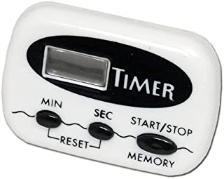 Chef Craft 21239 Timer Display With Clip, 1 sec to 99 min