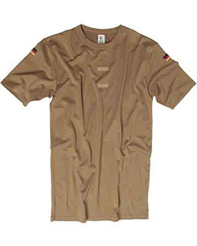 Mil-Tec BW Tropical T-Shirt m.Nat.Abz. Coyote - Coyote, 9