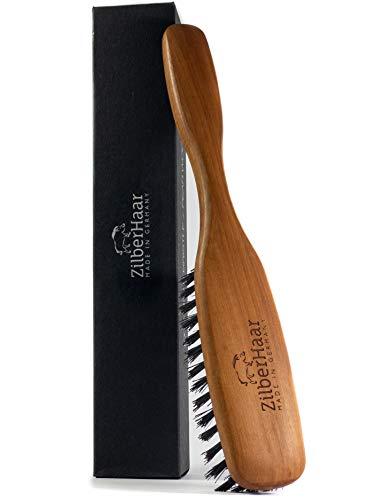 ZilberHaar Long - Soft Bristles - Hair and Beard Brush