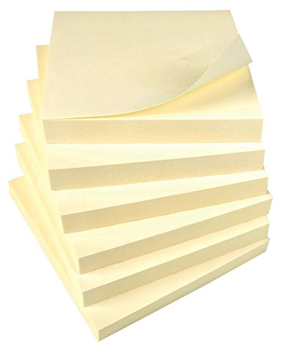 Foglietti adesivi riposizionabili  5 Star 76x76 mm giallo 296638 (12 pezzi)