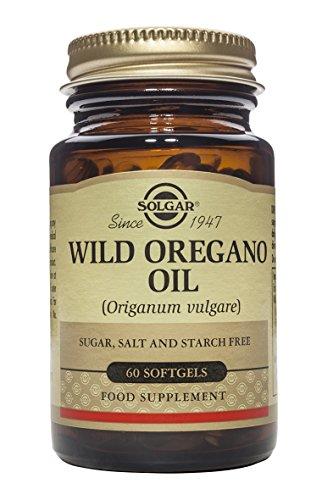 Solgar Aceite de Orégano Silvestre Cápsulas blandas - Envase de 60