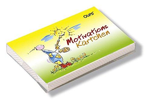 Oups Kärtchenbox: Motivations Kärtchen