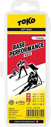 Toko Wachs Base Performance 120g Red -4°C / -12°Wax