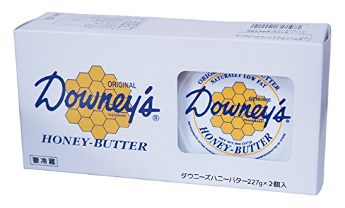 Downey's ダウニーズ オリジナル ハニーバター 227g×2P 90%以上はちみつ