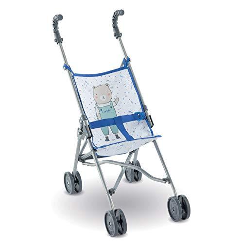 Corolle 9000140730 Mon Grand Poupon Puppenbuggy blau für alle 36-42cm Babypuppen