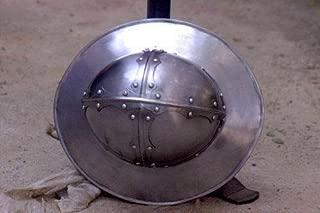 QUALITYMUSICSHOP Medieval Kettle Hat Helmet Reenactment LARP Role-Play Infantry Spanish