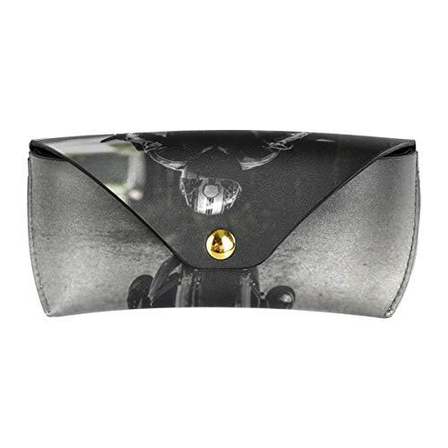 XiangHeFu Multiuse Goggles tas portefeuille brillenkoker PU leder zonnebriletui biker motorfiets rijden voertuig straat draagbaar