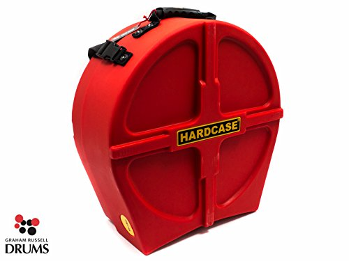 Hardcase HNL14SR FULLY LINED Version Snare Drum Case Red