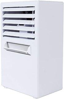 NEXGADGET Aire Acondicionado Portátil Ventilador de Mesa Humidificador Silencioso 3 en 1 con 3 Velocidades Ahorrar de Energía Protección de Potencia para hogar, Casa