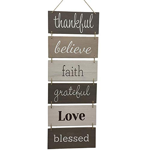 Hanging Wall Décor Sign - Welcome …