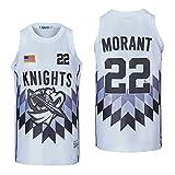 Men's 22 Morant Basketball Jersey Stitched Size XXL