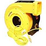 Zoom Blowers 2.0 HP Zoom XLT Compact and Energy Efficient Commercial Air Blower - for Inflatables and Bounce Houses