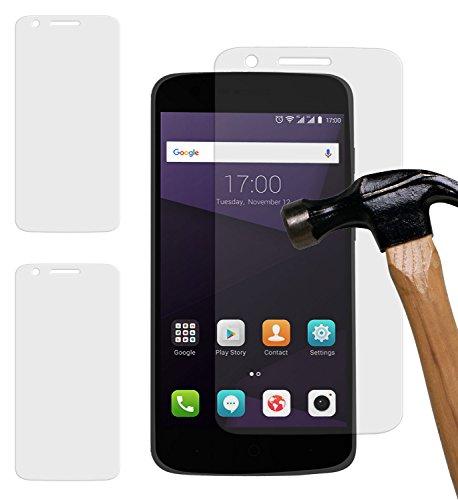 yayago 2er Set Bildschirmschutzglas 0 26 MM Bildschirmschutzfolie für ZTE Blade V8 Lite Glasfolie Hartglas 9H (bewusst Kleiner als das Bildschirm da Dieses gewölbt ist)