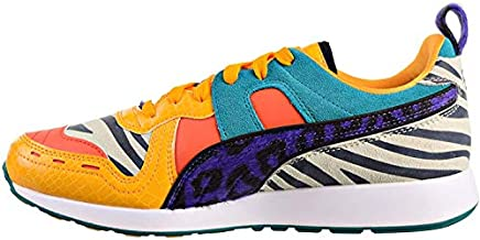 PUMA Mens Rs-100 Animal Lace Up Sneakers Shoes Casual - Multi - Size 9 D