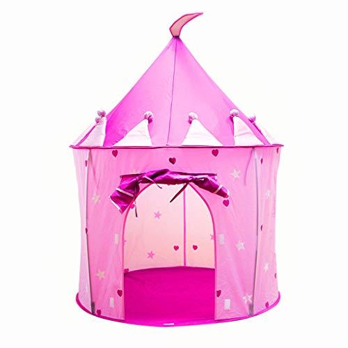 Zelt Prinzessinnen-Schloss, Spielzeugzelt, einfach zusammenzuklappen, für den Innen- und Außenbereich