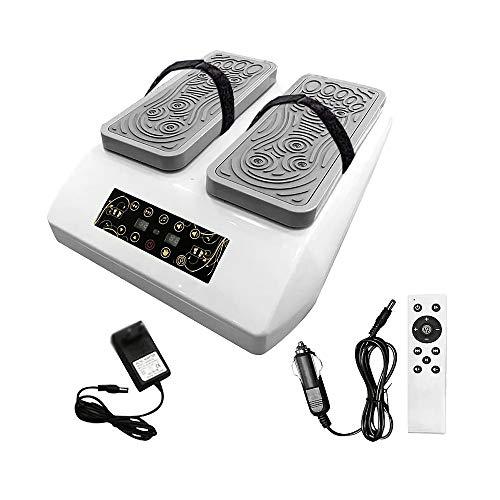 AeasyG Elektrischer Beintrainer, Förderung der Durchblutung, Massage der Fußpolster mit Musik für Senioren