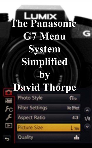 The Panasonic G7 Menu Simplified