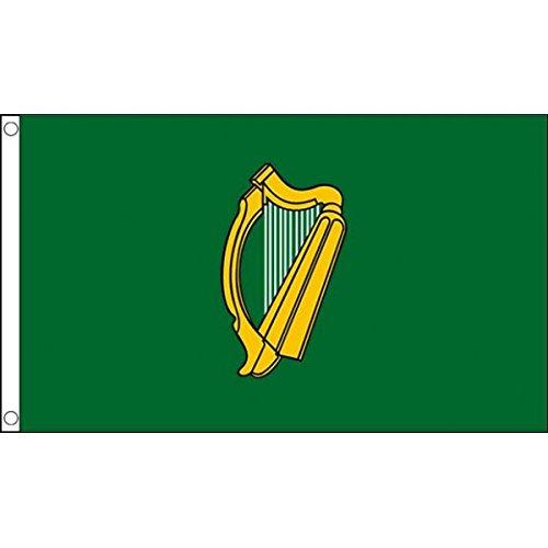 3 m x 2 m (90 x 60 cm) Leinster irlandais County matière 100% Polyester Drapeau Banniere idéale pour Festival bar Club l'activité Décoration de Fête