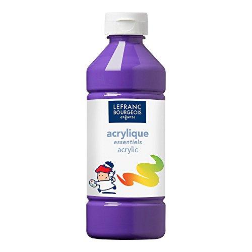 Lefranc & Bourgeois- Pintura Acrílica Líquida, Color Violeta, 500 ml (Colart 188530)