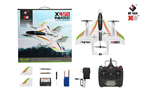 YTGOOD XK X450 2.4G Vertical Takeoff and Landing 3D EOP RC Airplane RTF