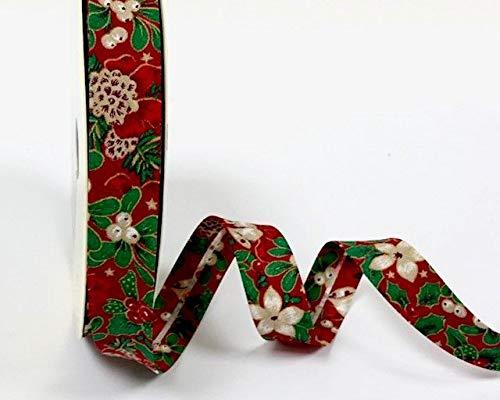 presentado en una Tarjeta de Berties Bows. Color Rosa Este es un Corte de un Rollo Fany Byetsa Cinta al bies sat/én, 18 mm, 3 m