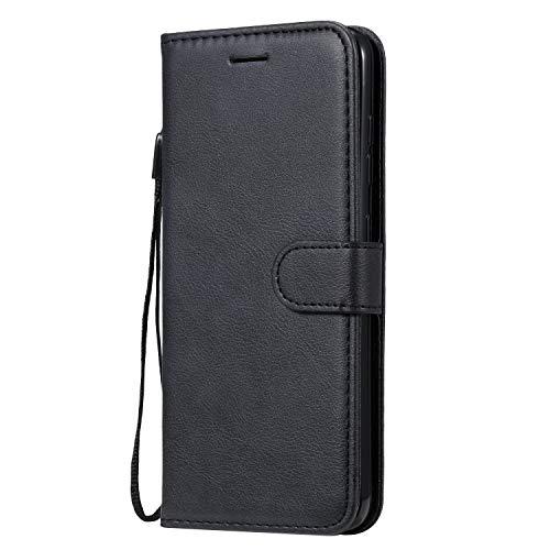 Hülle für Nokia 7.2 / Nokia 6.2 Handyhülle Schutzhülle Leder PU Wallet Bumper Lederhülle Ledertasche Klapphülle Klappbar Magnetisch für Nokia7.2 / Nokia6.2 - ZIKT051488 Schwarz