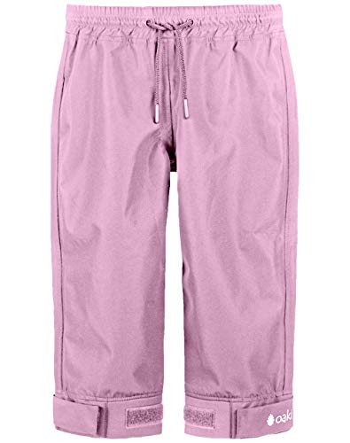 Oakiwear OAKI Children's Trail and Rain Pants, Lavender, 6/7