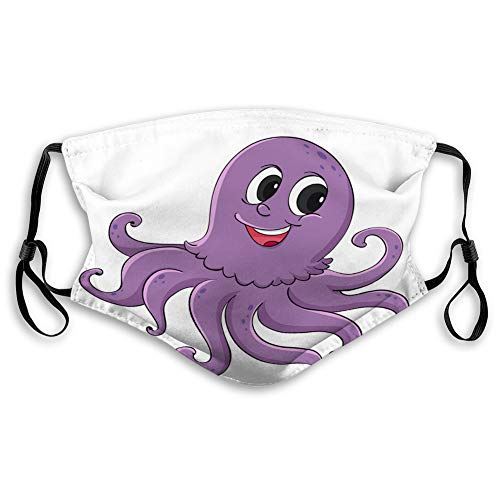 Check Out This DISGOWONG Anti Breathing Shield Cartoon Octopus Adjustable Covers
