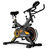 LEEWAY National Bodyline Spin Bike NB-S5 Exercise Fitness for Home Gym- 13 kg